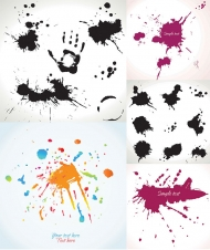 Vector ink blot