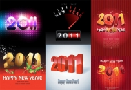 2011 creative fonts Vector