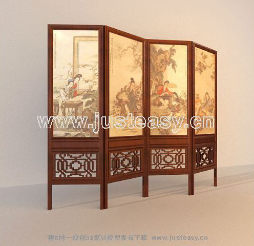 Screen, Chinese Screens, Retro Wall, Wooden Furniture, Furni