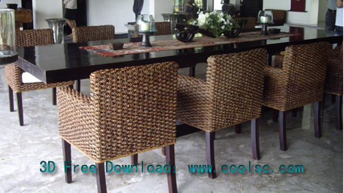 Chairs Page - Restaurant style kitchen table