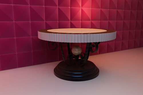Dynasty round lamp table, table, round table, furniture, lam