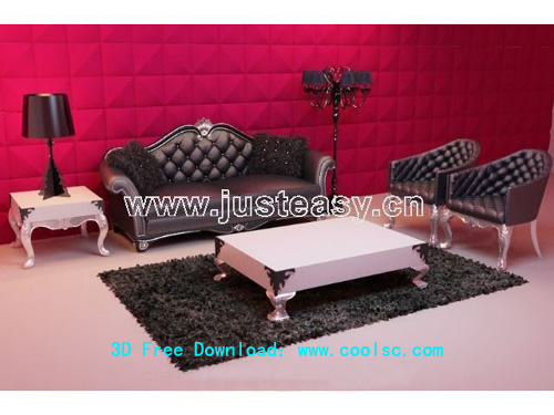 Modern sofa, Continental, sofa, cloth, over sofa, model down