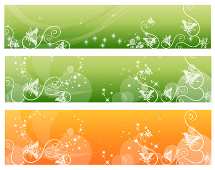 Fantasy Vector Background material - Fashion Pattern
