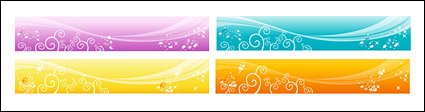 Fantasy Vector Background material - Fashion Pattern -2