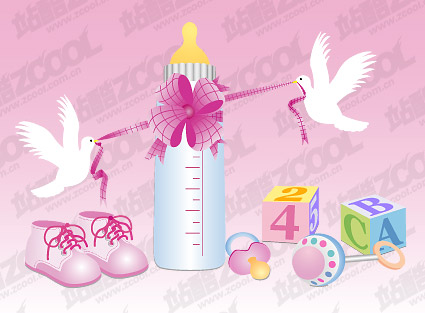 Baby Vector material -3
