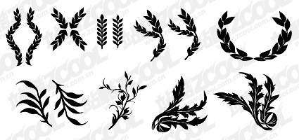 Wheat and other common elements of vector material