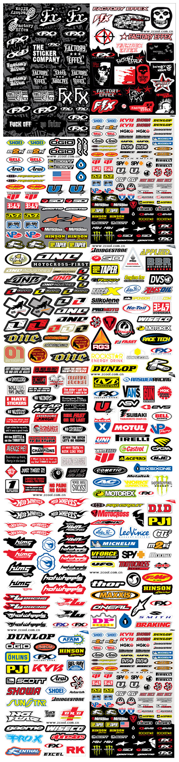 Car sticker design download - The Tide Of Hundreds Of Body Sticker Pattern Vector Material