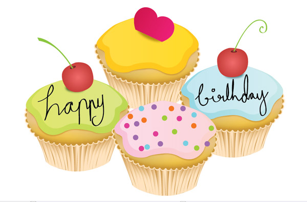 birthday cake cartoon images. A small irthday cake Vector