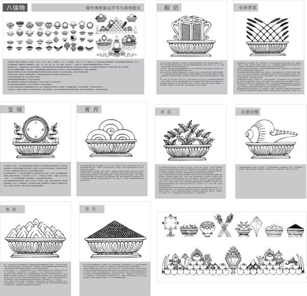Tibetan Buddhist Symbols And The Objects Of Figure 2 8 Swis