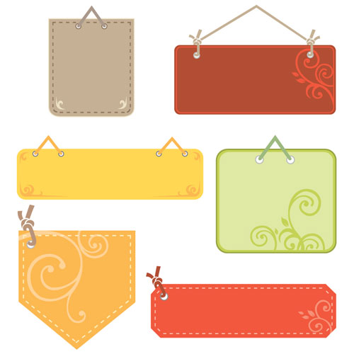 Cute Tag Label Vector Graphic Graphic Hive
