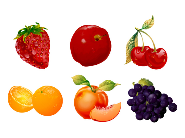 Ultra-fine fruit Vector material