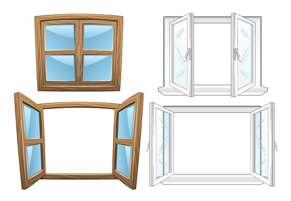 Window vector graphic graphic hive for Window design clipart
