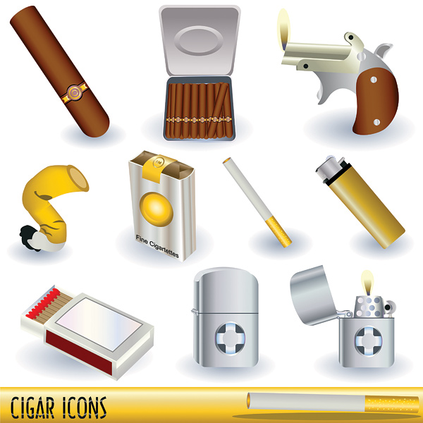 Vector Cigarette Lighter Series