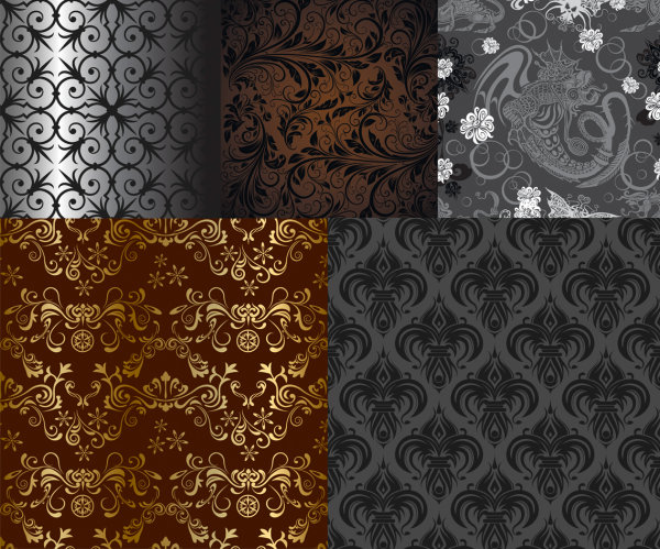Vector background patterns