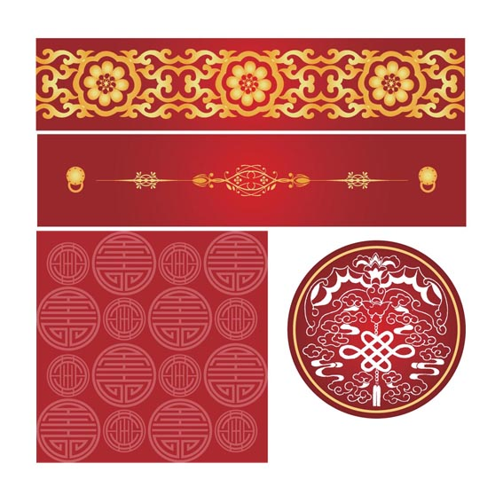 China Wind Pattern (Vector Design)